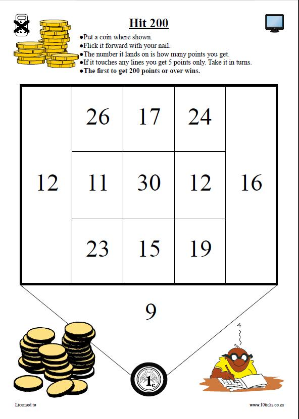 10ticks Maths Primary Secondary Worksheet Resources